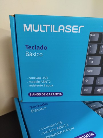 Teclado USB Multilaser - Foto 2