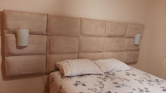 Cabeceira de cama de casal - Foto 4