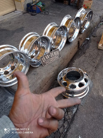Rodas alumínio Accelo 1016