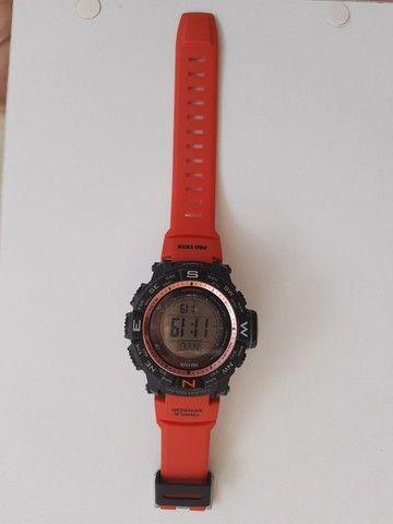 Relógio Casio Protek PRW-3500 à prova dágua - Foto 5