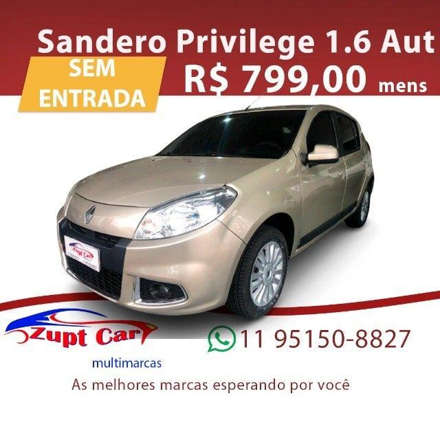 Sandero 2012/2013 1.6 Privilége 16V Flex 4P Automático