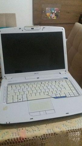 Notebook Acer 5920 para conserto ou retirada de peças  - Foto 5