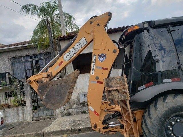Retroescavadeira Case 580N 4x4 2018 - Foto 3
