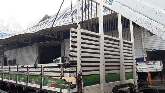 Carroceria madeira Semi-nova 2021  - Foto 8