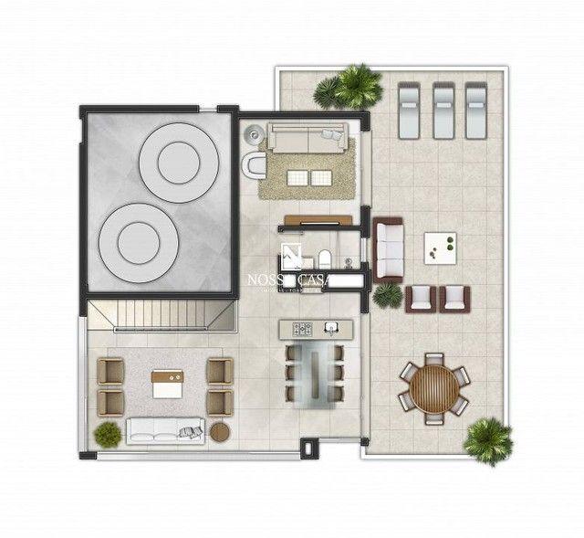 Apartamento com 03 suítes, lavabo, 02 box de garagem no Di Milano em Torres/RS - Foto 12