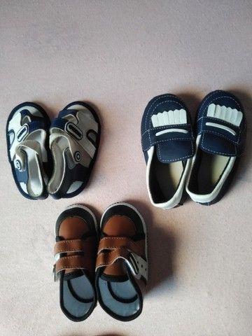 Sapatinhos e Sandálias para bebê até 1 ano e 6 meses - Foto 3