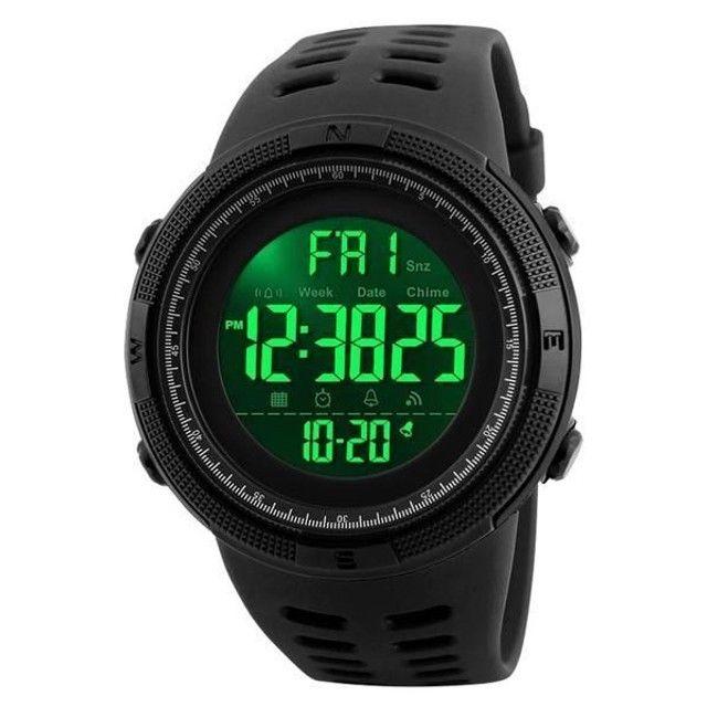 Relógio Masculino Skmei 1251 Preto 5ATM Original - Foto 2