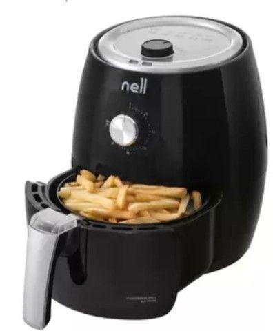 Promoção Fritadeira Elétrica sem Óleo/Air Fryer Nell Smart - Preta 2,4L com Timer