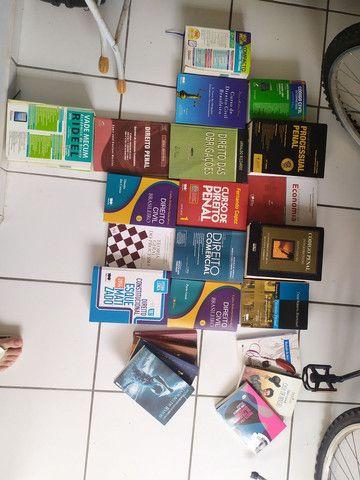 Livros de direito/ Vade mecums/ Livros paradidáticos e outros