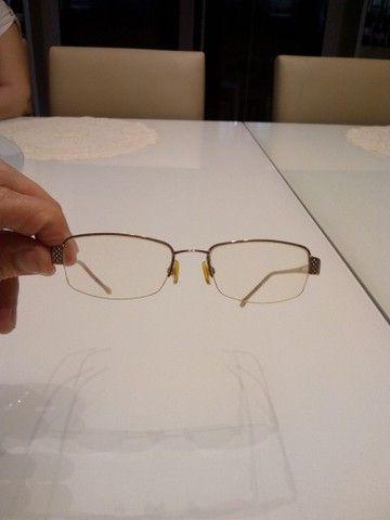 Armação de óculos feminina Semi nova. - Foto 4