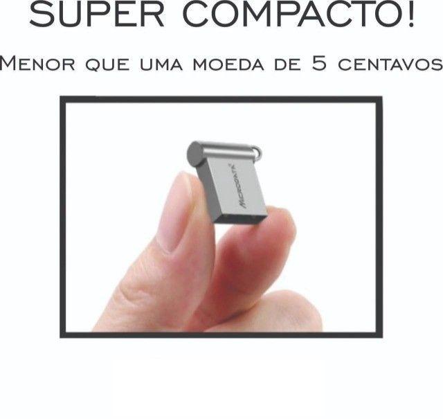 Pen Drive 32 GB Microdrive Metal Mini - Foto 2
