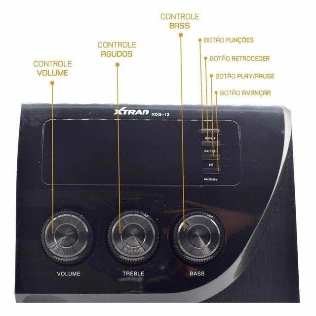Caixa de Som Micro System Xtrad Original 1000W - Foto 3