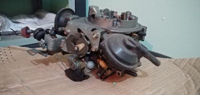Carburador 3e, h30 34 BLFA, miniprogressivo. Coletor chevette, mufla - Foto 3
