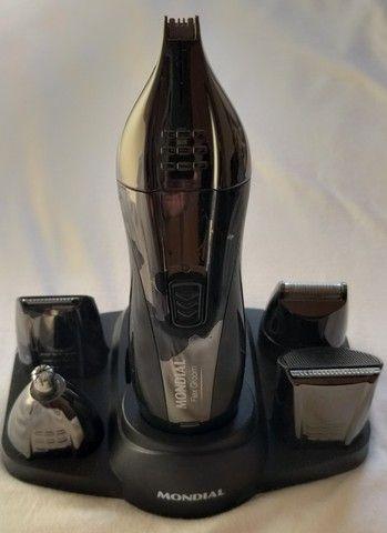 Aparador de pelos Mondial Flex Groom, bi volt, 6 watts, recarregáv - Foto 2