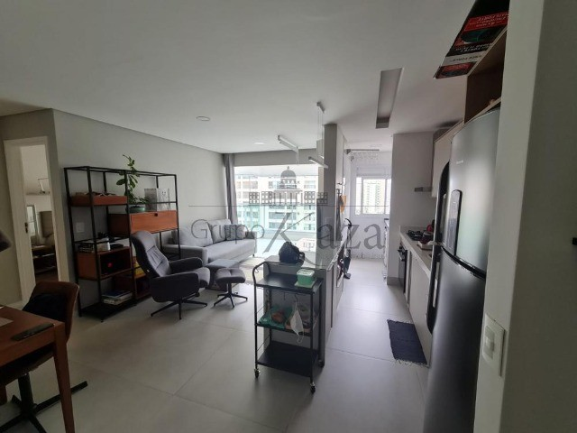 Apt 57m² mobiliado 1 drm, 1 wc, 1 vaga e lazer - Foto 11