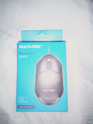 Mouse novo na caixa