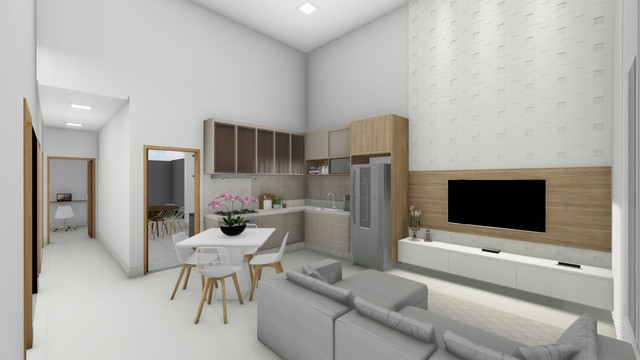 Casa Térrea   127,00 m² de Área Construída   Jd. Espanha - Foto 3