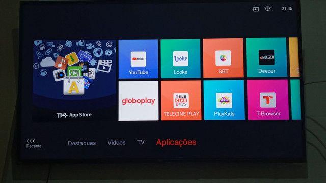 Vendo tv tcl 50 polegadas 4k nova pouco tempo de uso  - Foto 2