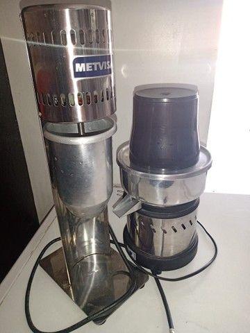 Batedeira de milk sheik e espremedor de suco - Foto 4
