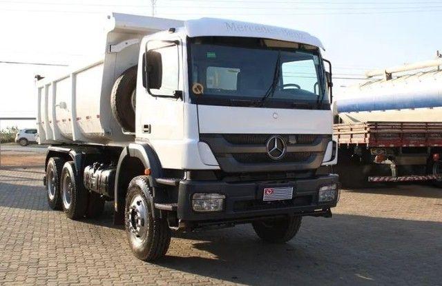 Caminhão MB 3131 6×4 Caçamba Basculante - Foto 3