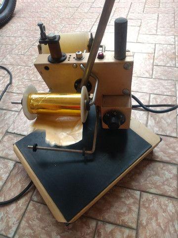 Máquina antiga, de confeccionar cartões  - Foto 3