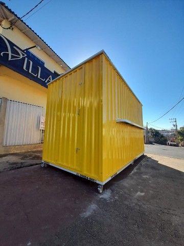 Container Desmontável para Lanches