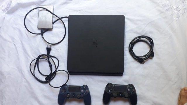 PlayStation 4 slin 1 terá 2 controle  - Foto 2
