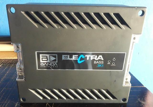 Banda 3000wts electra 3k-1 só grave