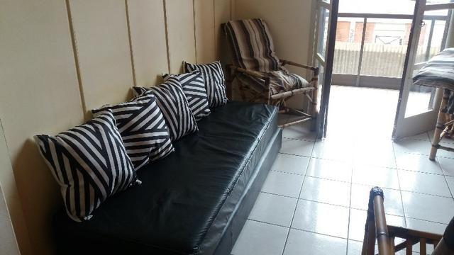 Apartamento 2° pav. n.º 205 - 01 dormitório (2 transformado para um) mobiliado - Cassino - Foto 2