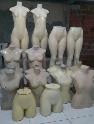 Lote de manequins