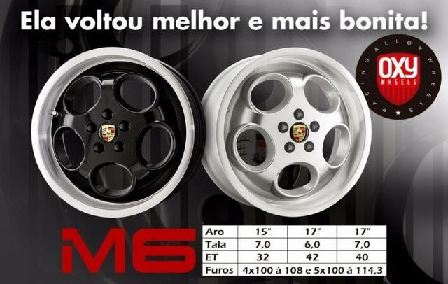 Jogo de Rodas Porsche Lemans M6 aro 15 ou 17