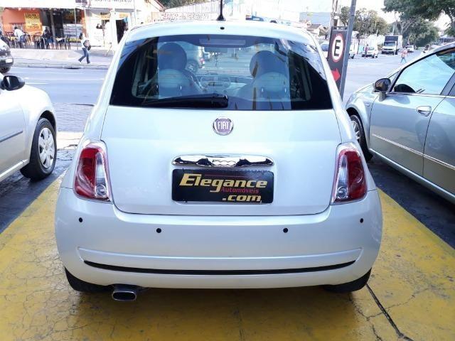 Fiat 500 Perola!! Financio Sem Ent. nao ka c3 onix 208 kwid up hb20 cooper mobi uno gol - Foto 7