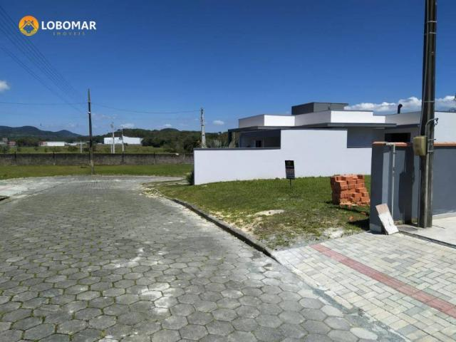 Terreno condominio fechado, 300 m² por r$ 145.000 - nossa senhora da paz - balneário piçar - Foto 5