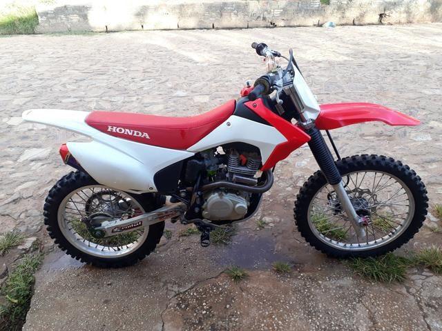 Crf 230 com kit 240cc - Foto 3