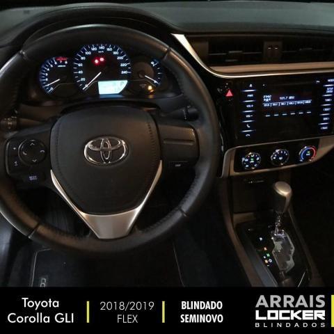 Toyota corolla 2018/2019 1.8 gli upper 16v flex BLINDADO - Foto 3
