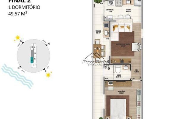 Lançamento Apartamento na Ocian em Praia Grande - Foto 17