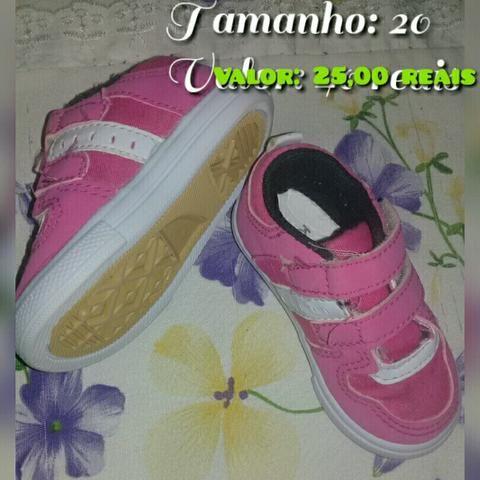 Sapatos infantil para menina