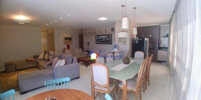 Apartamento com 3 dormitórios à venda, 179 m² por r$ 1.250.000,00 - setor marista - goiâni - Foto 3