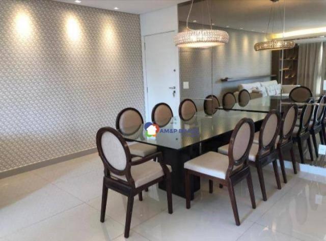Apartamento com 2 dormitórios à venda, 105 m² por R$ 495.000,00 - Setor Bueno - Goiânia/GO - Foto 4