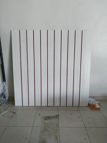 Painel canaletado branco