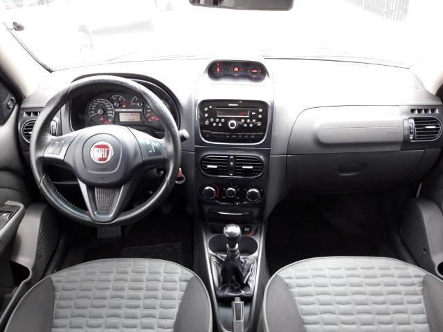 Fiat Strada Adventure 1.8 Flex Cabine Dupla Completa impecavel Baixo KM - Foto 7