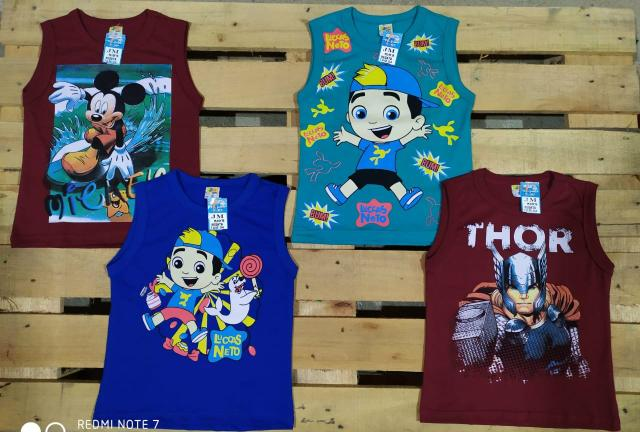 Camisa do 2 ao 14 anos - Foto 2