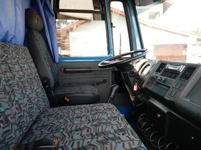Ford/Cargo 814 1998 C/Baú Motor Novo - Foto 3