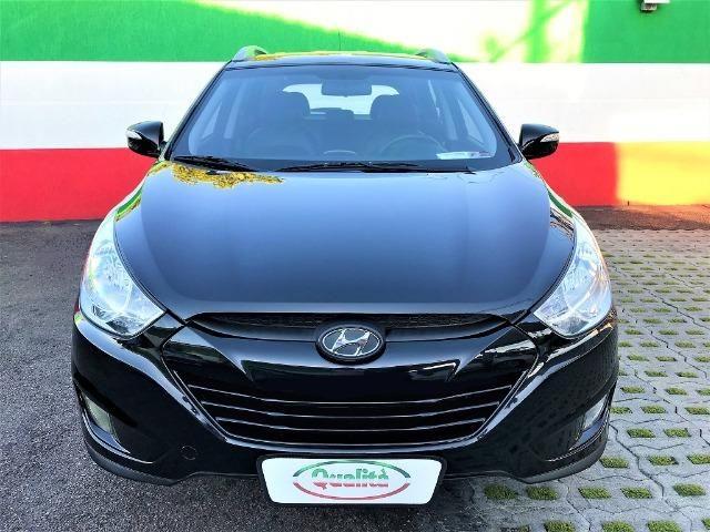 Hyundai IX35 Botão Start, Automática, Top + Kit GNV Última Geração, Baixa km. Lindo Carro! - Foto 7