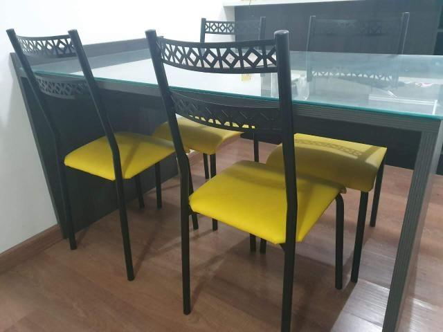 Conjunto de 4 cadeiras (somente cadeiras)