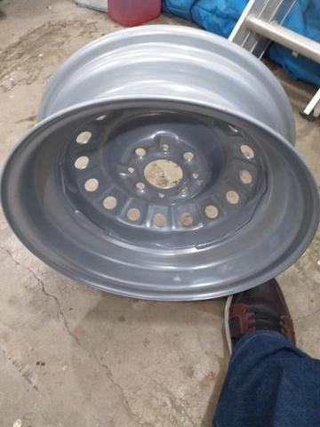 Roda ferro fiat aro 14 - Foto 2