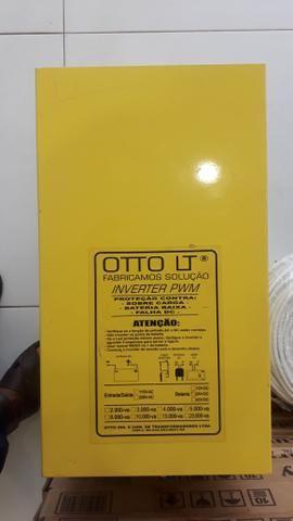 Inversor otto de 4000 watts onda senoidal pura - Foto 3