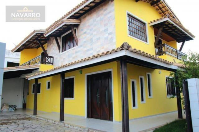 Casa com 4 dormitórios à venda, 184 m² por r$ 690.000 - stella maris - salvador/ba - Foto 2