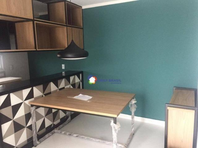 Apartamento Duplex com 2 dormitórios à venda, 80 m² por R$ 620.000,00 - Setor Bueno - Goiâ - Foto 3