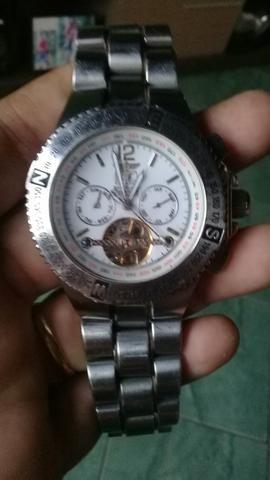 5c54170fa8e Relógio automático original da marca bentley todo em aço leia o anúncio